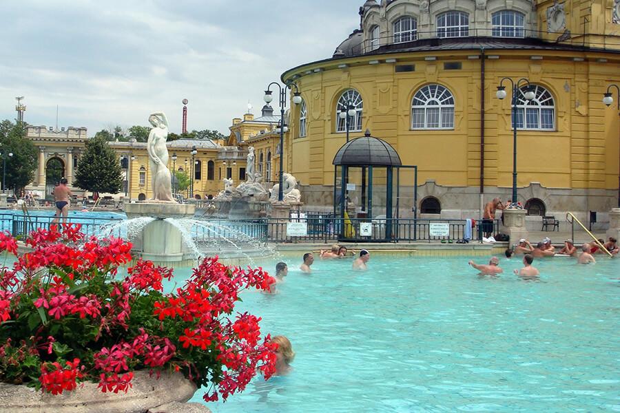 Termalbäd in Budapest